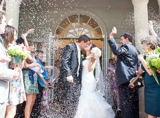 Tradição de Casamento: Chuva de Arroz