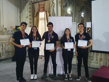 CICE en el podio de la Expociencia Nacional 2019