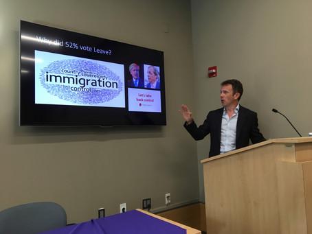 NYU Lecture: Brexit Breakdown