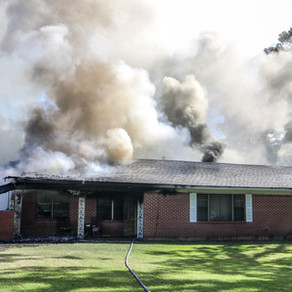 House Catches Fire on Hickory Ridge Road