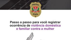 Aprenda agora como denunciar violência doméstica pela delegacia eletrônica