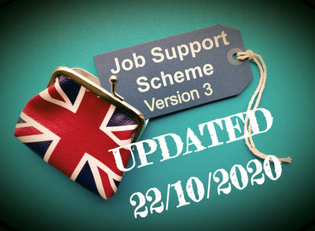 Just When You Thought the Furlough Scheme was Over! Job Support Scheme Version 3