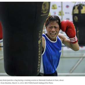 Mary Kom beats challenger in trial for Olympics qualification