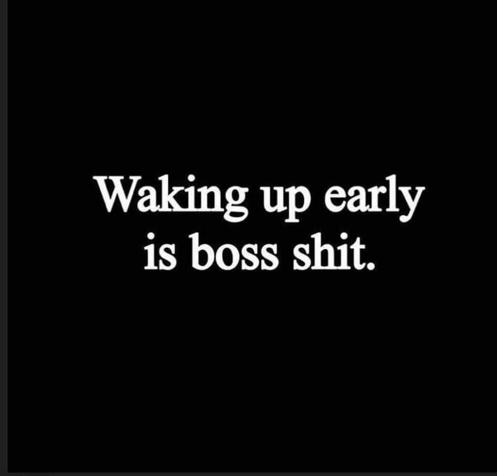 Waking Up Early Memes