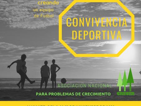 Convivencia Deportiva ( Creando un equipo de fútbol )