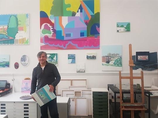 Schildercursus Albert Zwaan is een cursus en schilderclub in 1 !