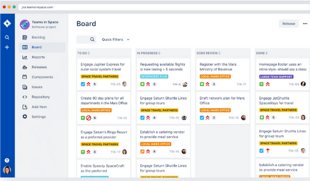 Project Management Software Jira