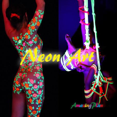11月はDai「Neon Art」展