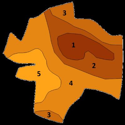 Carte de type de sol