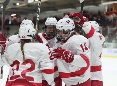 #4 Cornell Women's Hockey Dominates Dartmouth At Home
