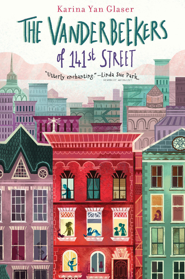 book cover of Karina Van Glaser's The Vanderbeekers of 141st Street