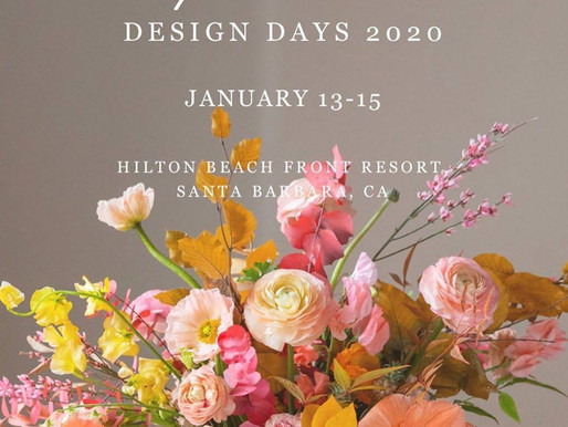 Join Us at Florabundance Design Days 2020!