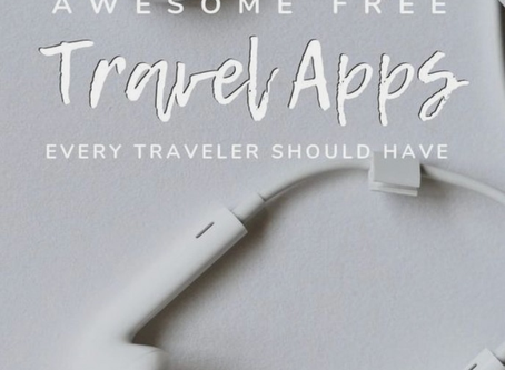 Awesome Free Travel Apps Every Traveler Should Have