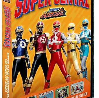Ninpuu Sentai Hurricaneger DVD revealed by Shout! Factory.