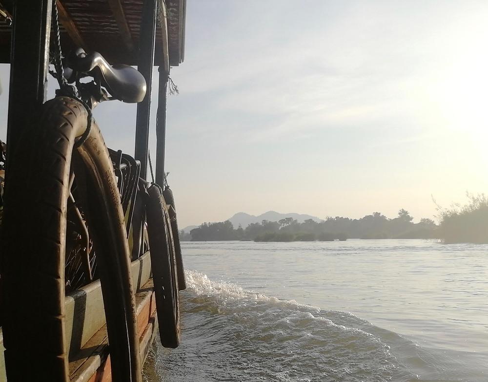 Tour du monde à vélo en famille : Laos
