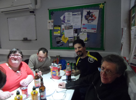 Redbridge social club gets quizzical for charity