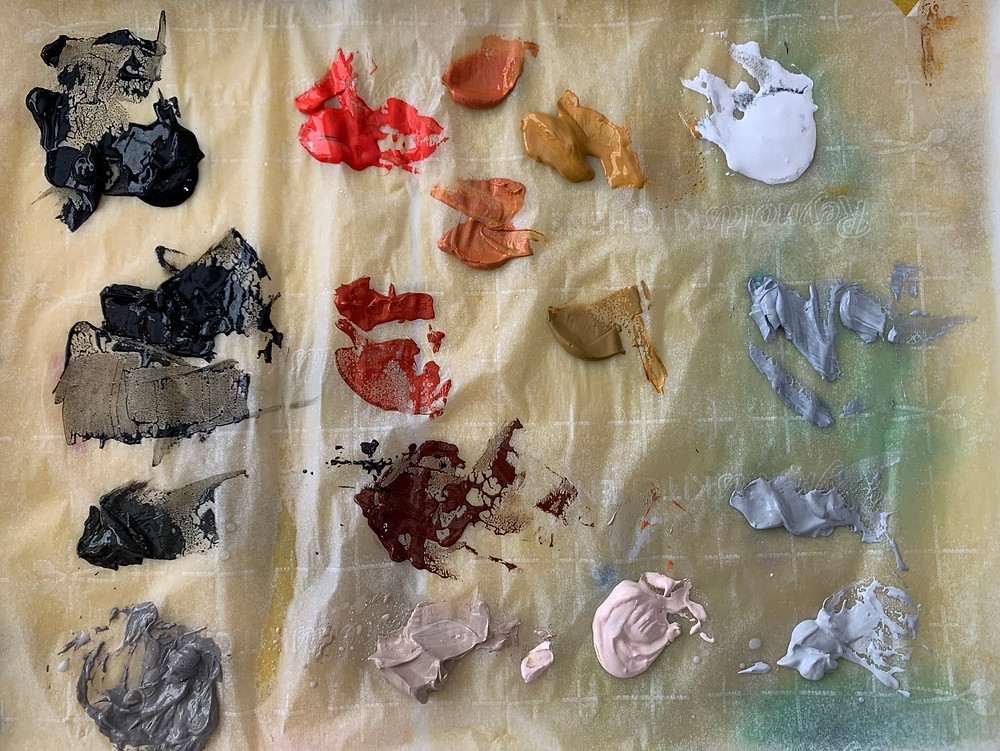 Zorn Paint Palette Colors
