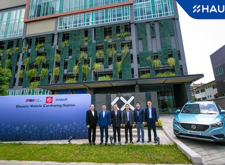 ครั้งแรกในประเทศไทย! นำ MG ZS EV มาให้บริการที่สถานี EV Sharing