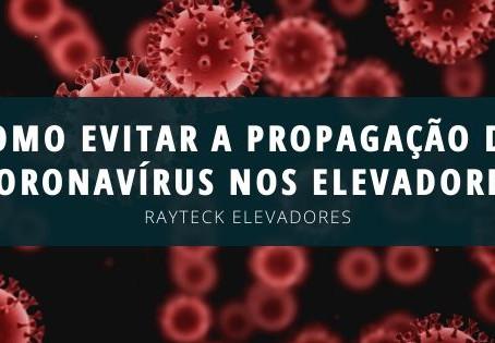 Como evitar a propagação do coronavírus nos elevadores