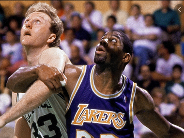 Who was the best in the 80s; Magic Johnson or Larry Bird?