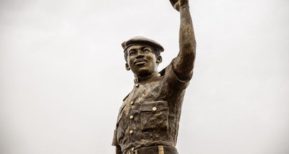 Burkina Faso revela nova estátua de Thomas Sankara (por Lucas Carvalho)