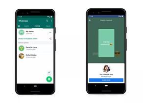 """""""Stories"""" do WhatsApp integrado ao facebook e instagram (em breve)"""