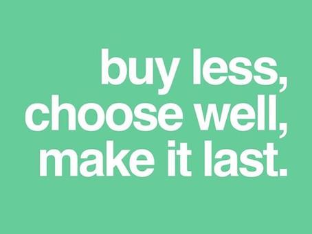 Vamos fazer escolhas mais conscientes?