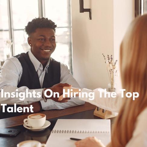 Hiring The Top Talent