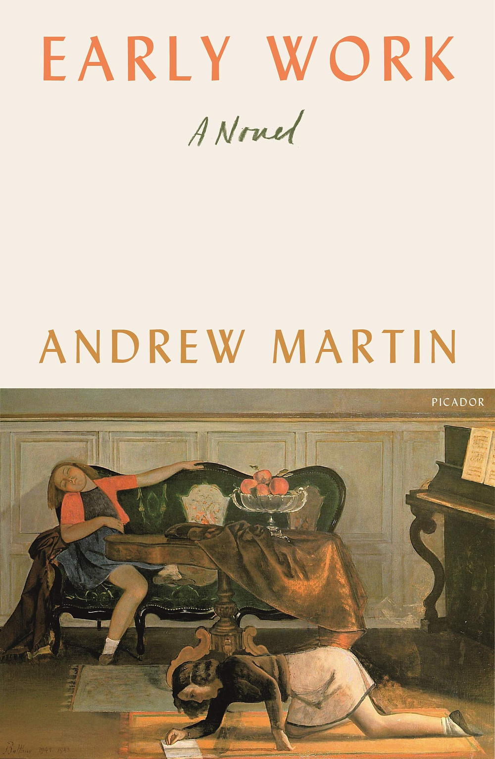 Early Work by Andrew Martin : the book slut book reviews