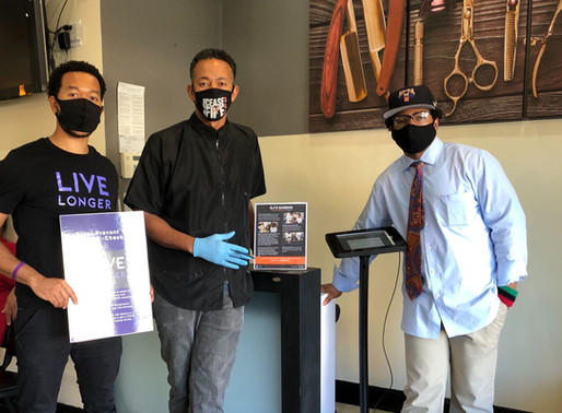 Live Chair Educates Black Men on Their Health By Bringing the Conversation to the Barbershop