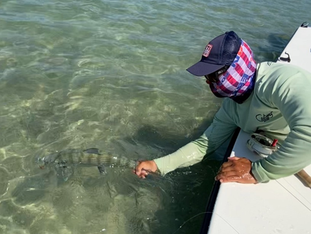 April in South Florida Means Bonefish on Fly in Miami and Biscayne Bay