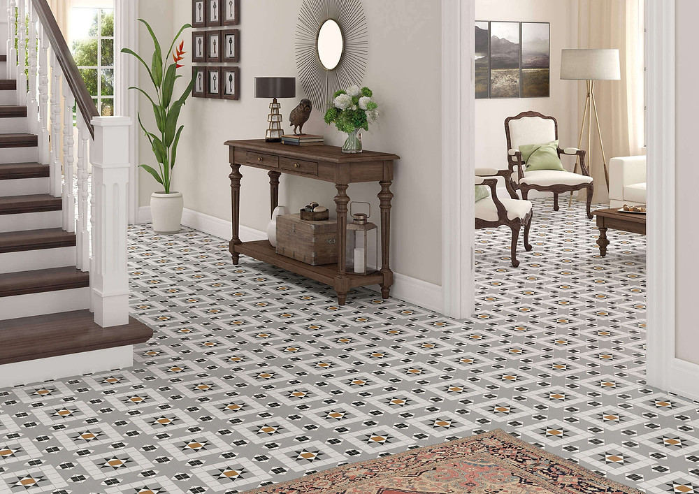 federation home, period home , federation tile, old english tile