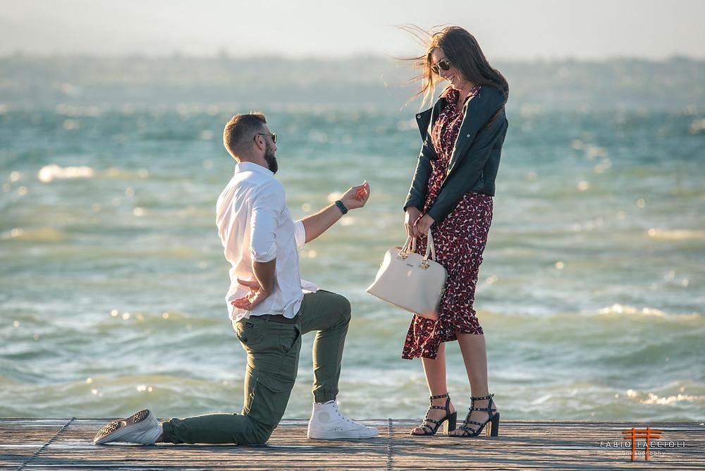 proposta matrimonio al lago di garda