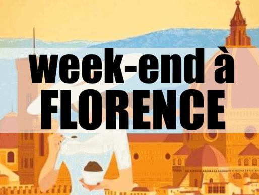 3 jours à Florence et Pise en Italie