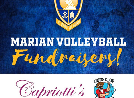 Marian Volleyball Fundraisers