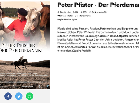 Horseman Peter Pfister im Kino