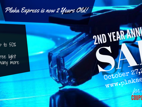 Plaka Express 2nd Anniversary Sale!