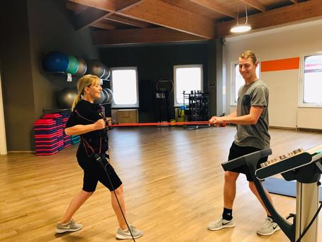 EMS Training im Fitness NOW