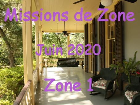 Zones : Missions semaine 23 - Zone 1