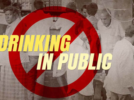 Special drive against consuming liquor at public place