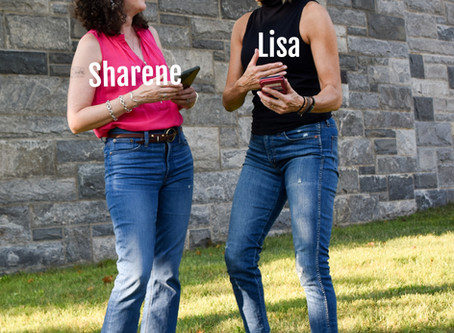 Let's chat -- Lisa and Sharene share their CONVERSATIONS