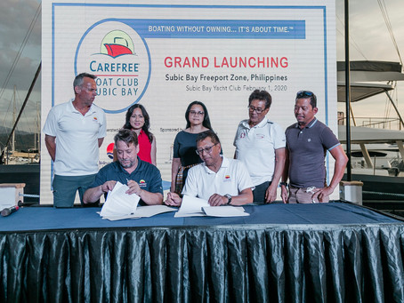 Carefree Boat Club Launches in Subic Bay!