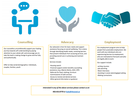 Counselling Advocacy Employment