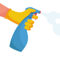 Une utilisation massive de désinfectants dans les crèches et écoles