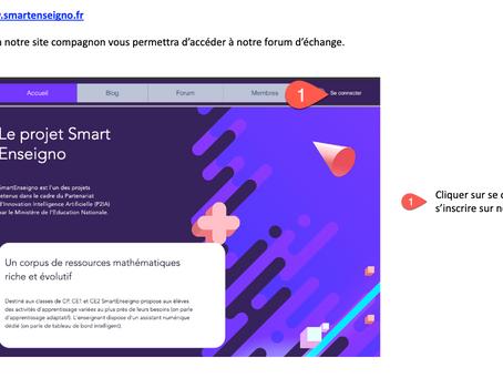 Comment se connecter à notre Forum https://www.smartenseigno.fr