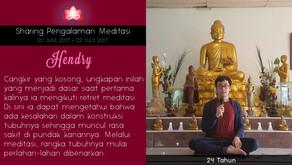 Meditasi mendeteksi kelainan fisik - Sharing oleh HENDRY