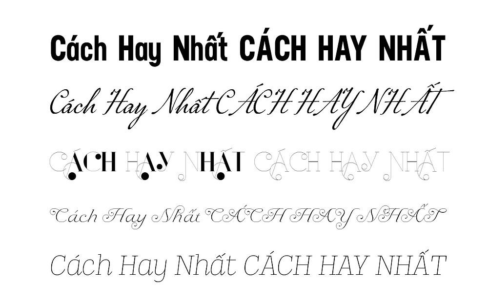Bộ Sưu Tập 32 Font Chữ FS Việt Hoá Đẹp Mắt Dành Cho Thiết Kế