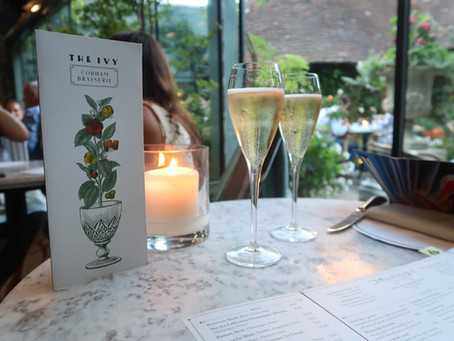 Date Night Review.... The Ivy Cobham Brasserie