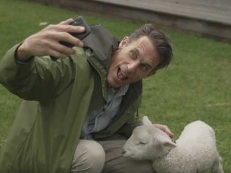 Jeremy Wells visits central Auckland farm after becoming obsessed with his own pet lamb