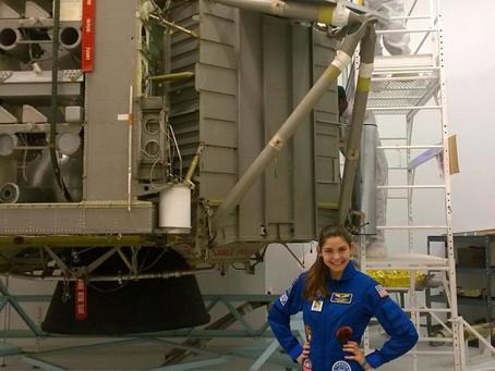 Alyssa Carson de 17 años podría ir a Marte